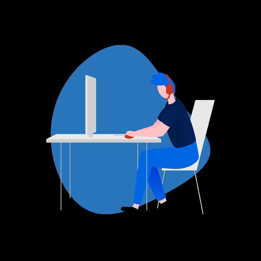 illustrazione servizio software overview